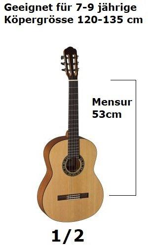 1/2 Klassische Gitarren